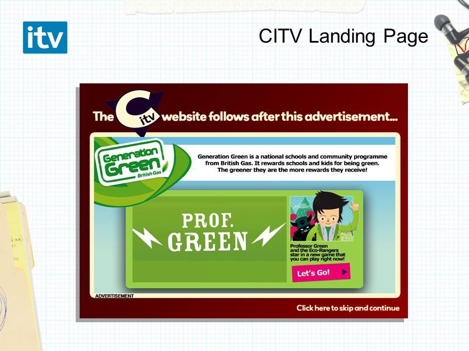 CITV Landing Page