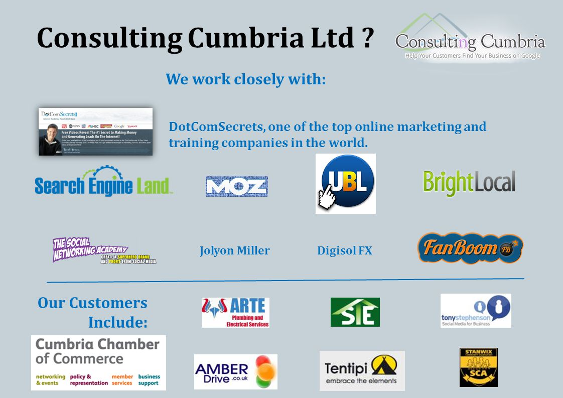 Consulting Cumbria Ltd .
