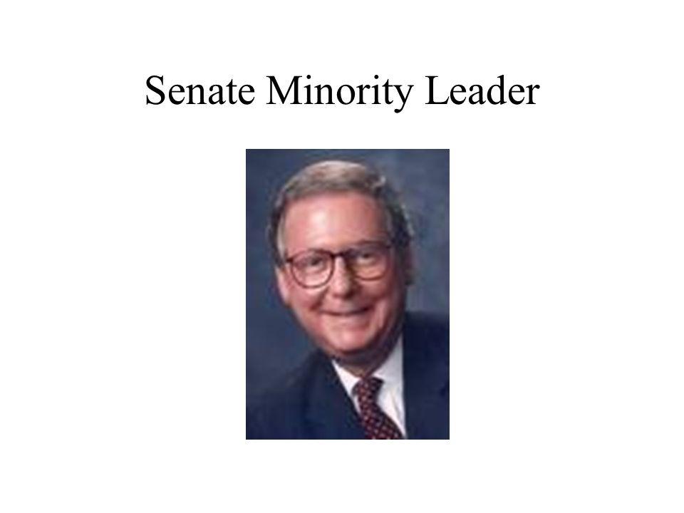 Senate Minority Leader