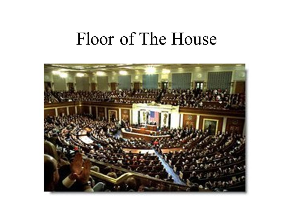 Floor of The House