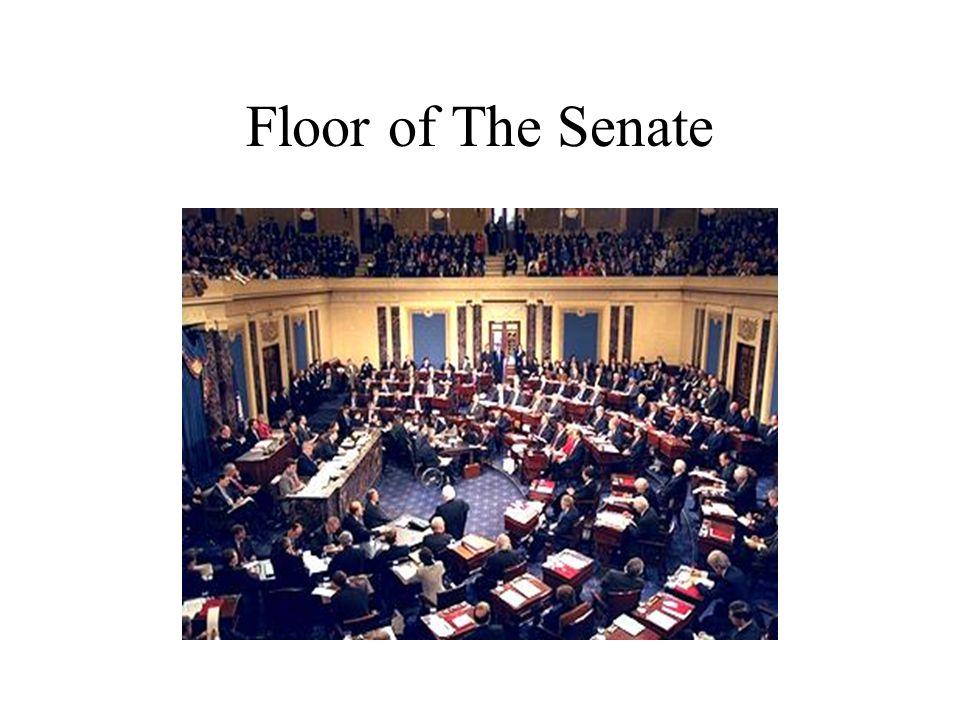 Floor of The Senate
