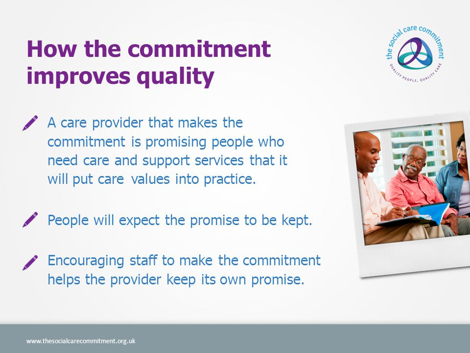 More than a promise NHS Choices provider profile.Improved recruitment and retention.