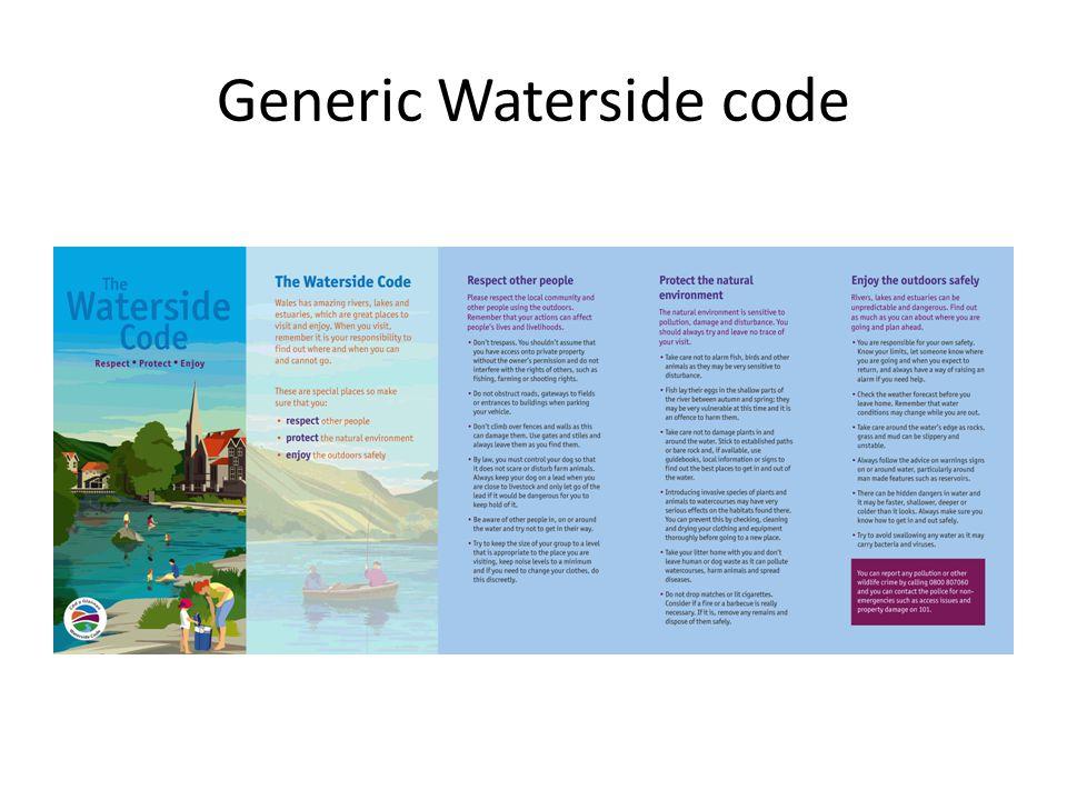Generic Waterside code