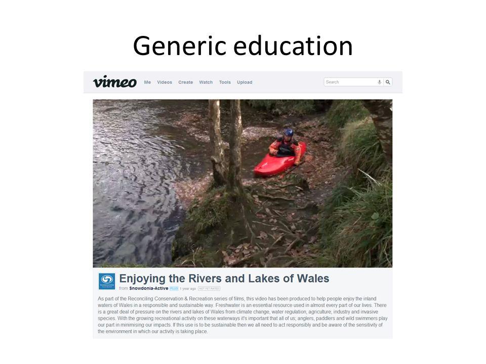 Generic education