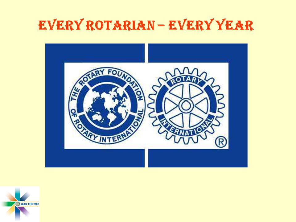 Every Rotarian – Every Year