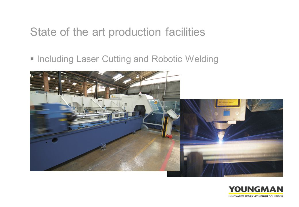  Including Laser Cutting and Robotic Welding