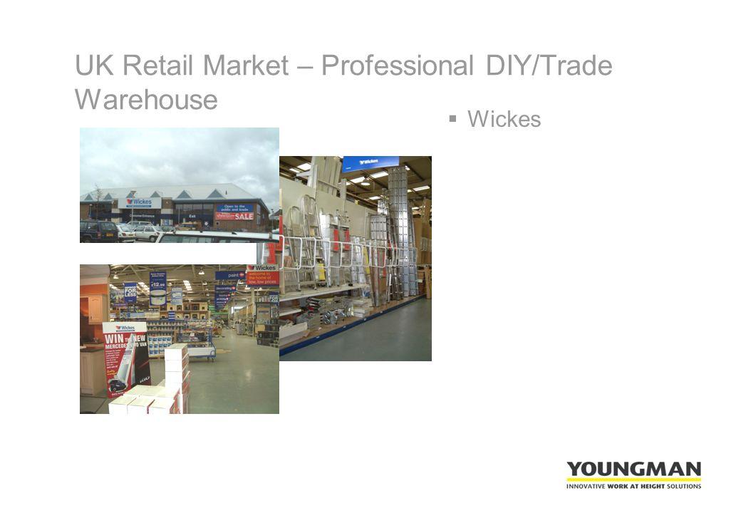 UK Retail Market – Professional DIY/Trade Warehouse  Wickes