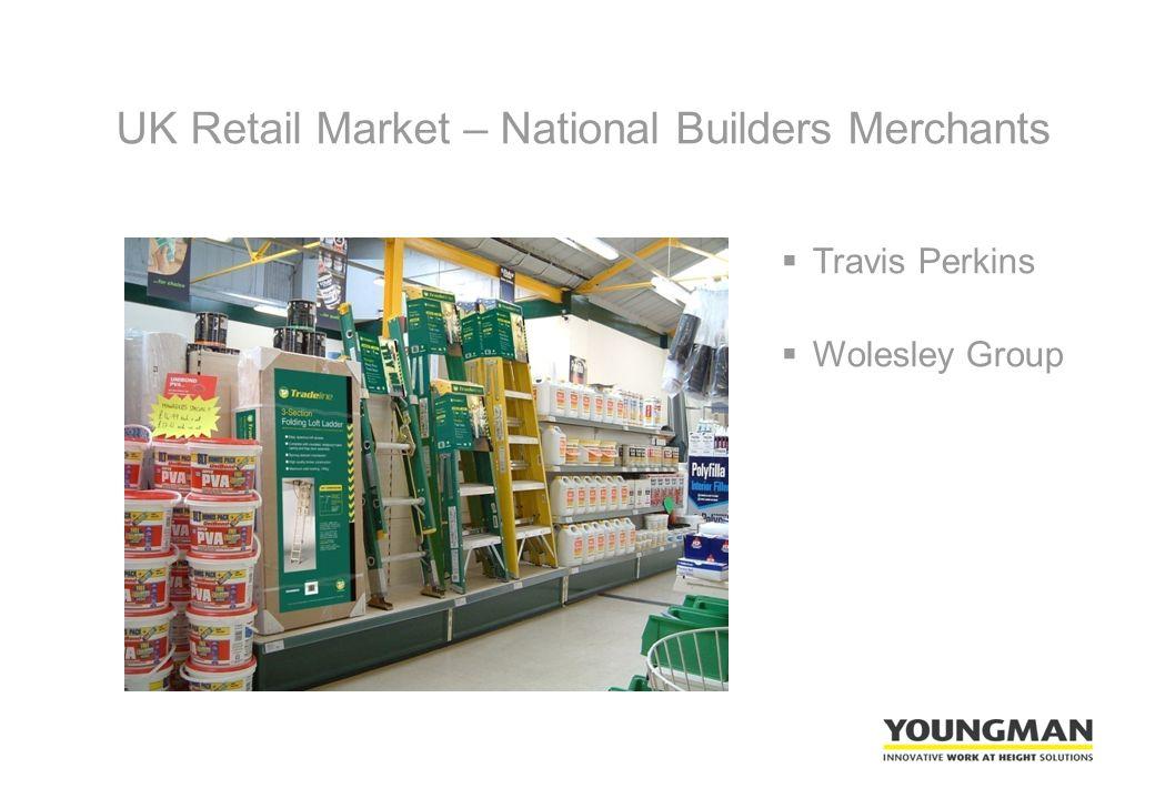 UK Retail Market – National Builders Merchants  Travis Perkins  Wolesley Group
