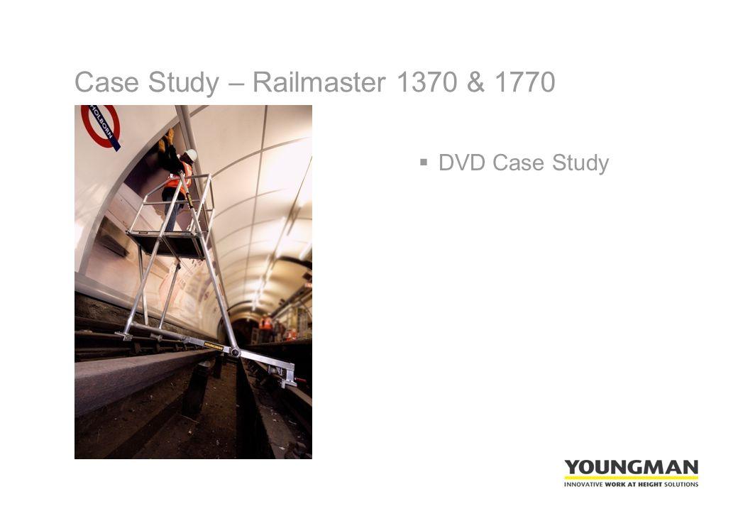 Case Study – Railmaster 1370 & 1770  DVD Case Study