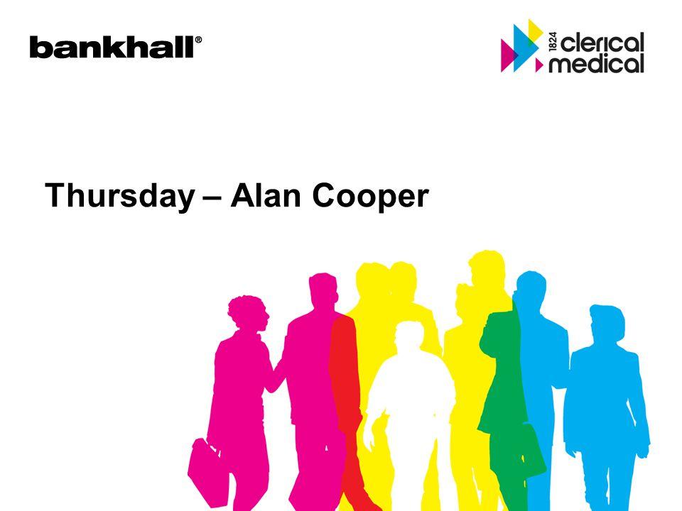 Thursday – Alan Cooper