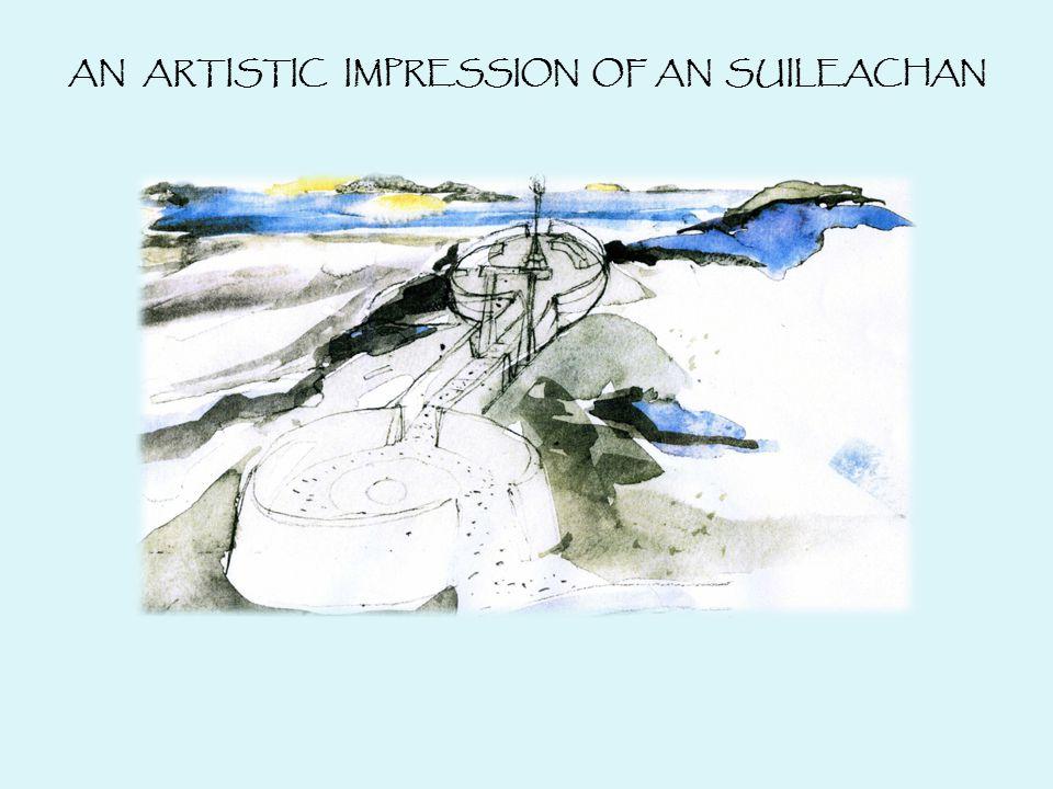 AN ARTISTIC IMPRESSION OF AN SUILEACHAN