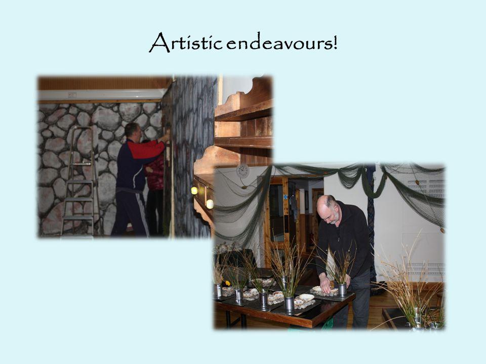 Artistic endeavours!