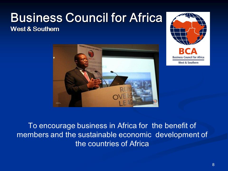 Membership Multi-Nationals - Shell, Diageo, PZ Cussons, BAT Multi-Nationals - Shell, Diageo, PZ Cussons, BAT SMEs SMEs Consultants Consultants NGO's NGO's All sectors All sectors Over 400 companies and entrepreneurs Over 400 companies and entrepreneurs Linked to the Eastern Africa Association Linked to the Eastern Africa Association Linked to EBCAM Linked to EBCAM 9