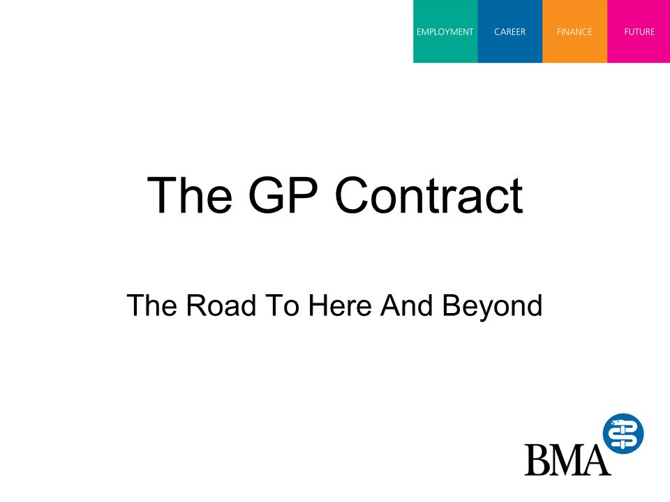 The GP Contract The Road To Here And Beyond