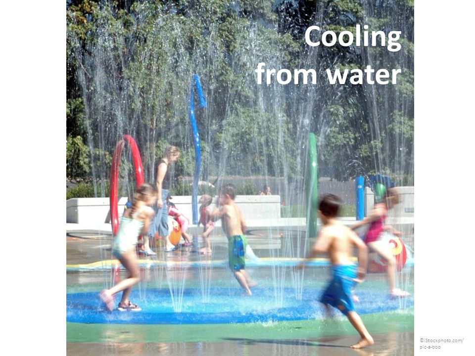 Cooling from water ©iStockphoto.com/ pic-a-boo