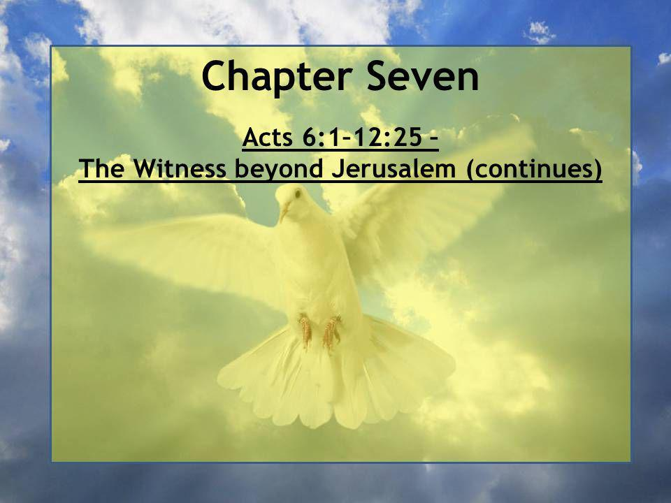 Acts Chapter Seven Ends
