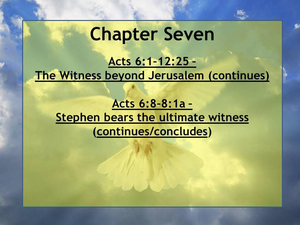 The Witness beyond Jerusalem 37 This is that Moses who told the Israelites, 'God will send you a prophet like me from your own people.'