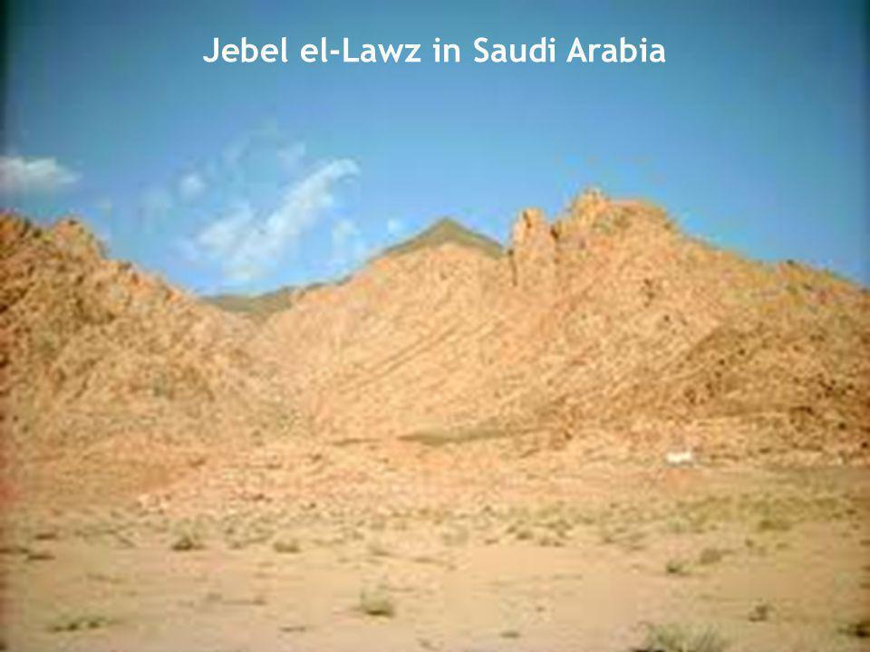 Jebel el-Lawz in Saudi Arabia
