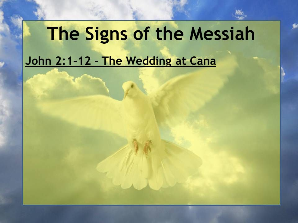 The Signs of the Messiah As recently noted, Nathanael was from Cana and the same rationale applies.