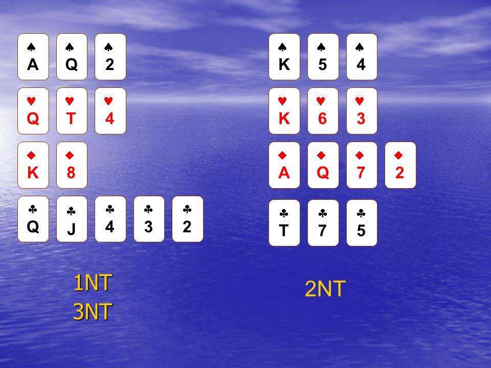 1NT3NT  A  Q  2 Q T 4  K  8  Q  J  4  3  2  K  5  4 K 6 3  A  Q  7  2  T  7  5 2NT