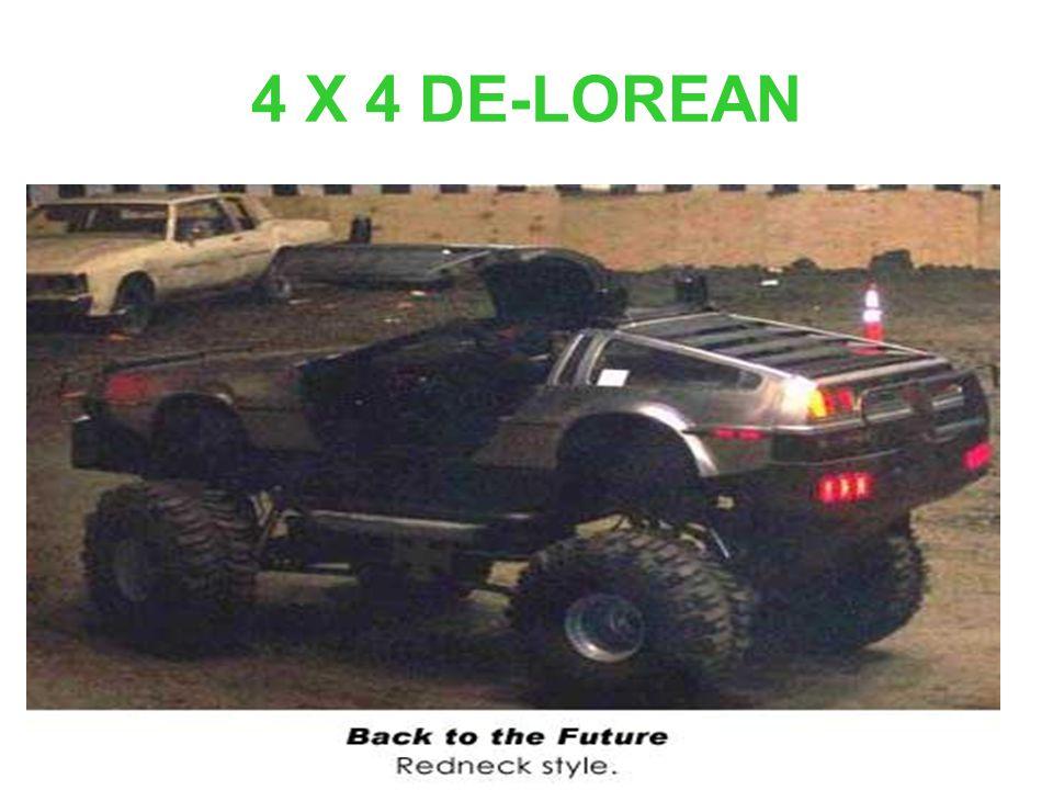 4 X 4 DE-LOREAN
