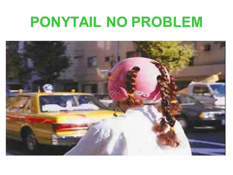 PONYTAIL NO PROBLEM