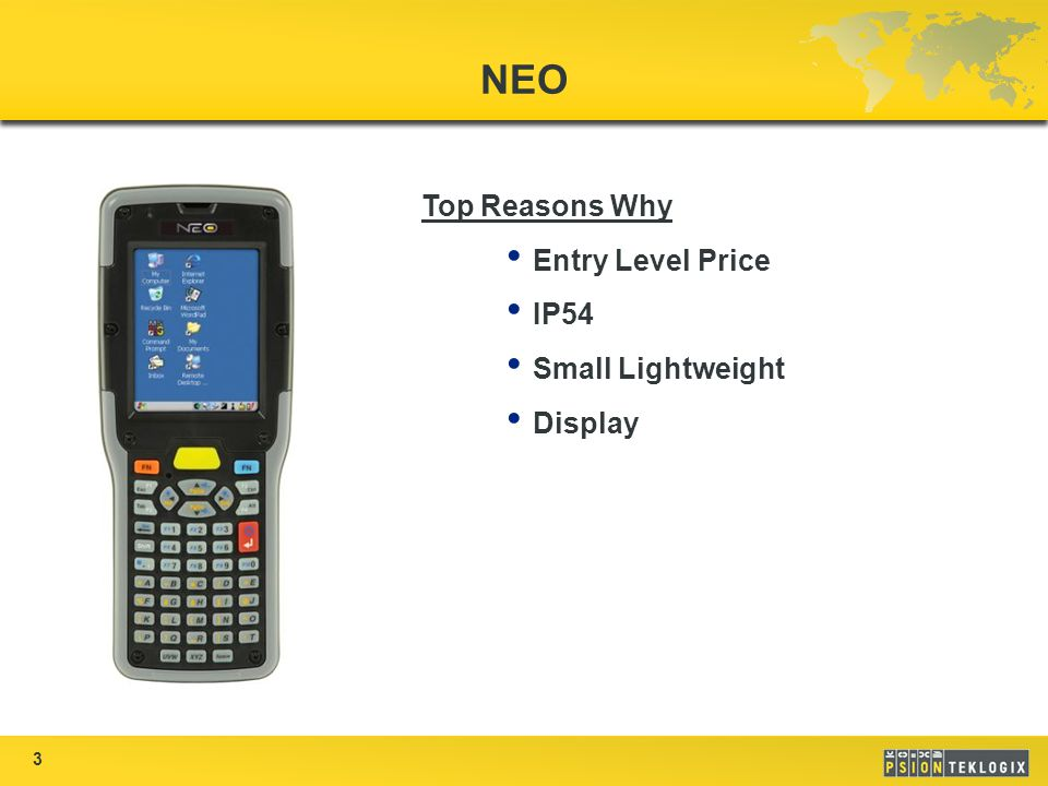 3 NEO Top Reasons Why Entry Level Price IP54 Small Lightweight Display