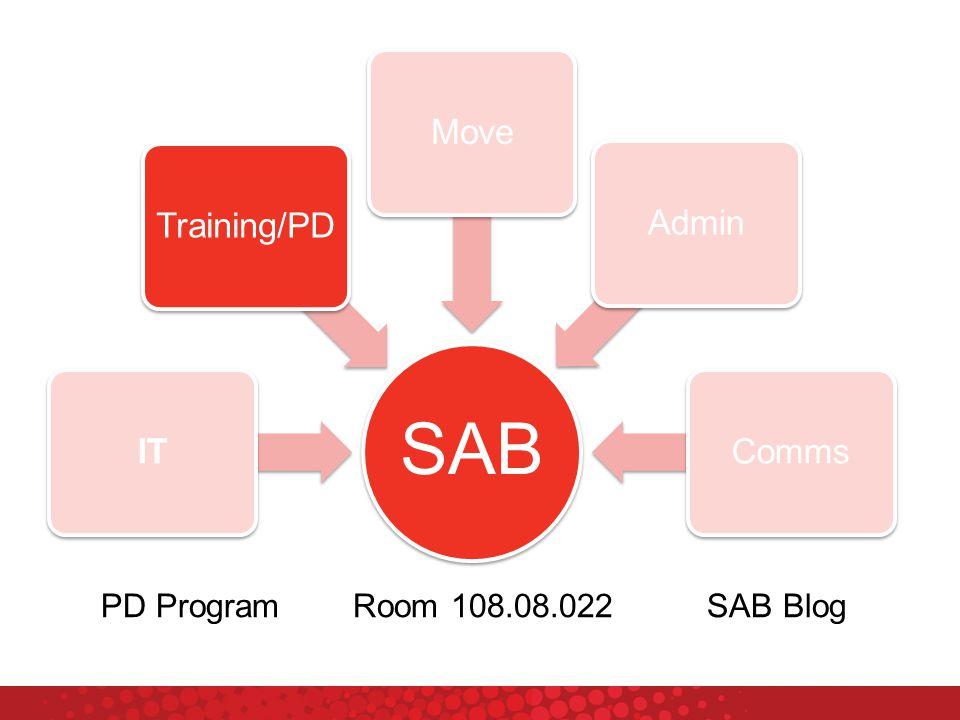 SAB ITTraining/PDMoveAdminComms PD ProgramRoom 108.08.022SAB Blog