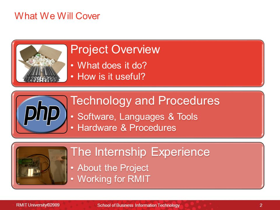 What We Will Cover Project Overview What does it do.