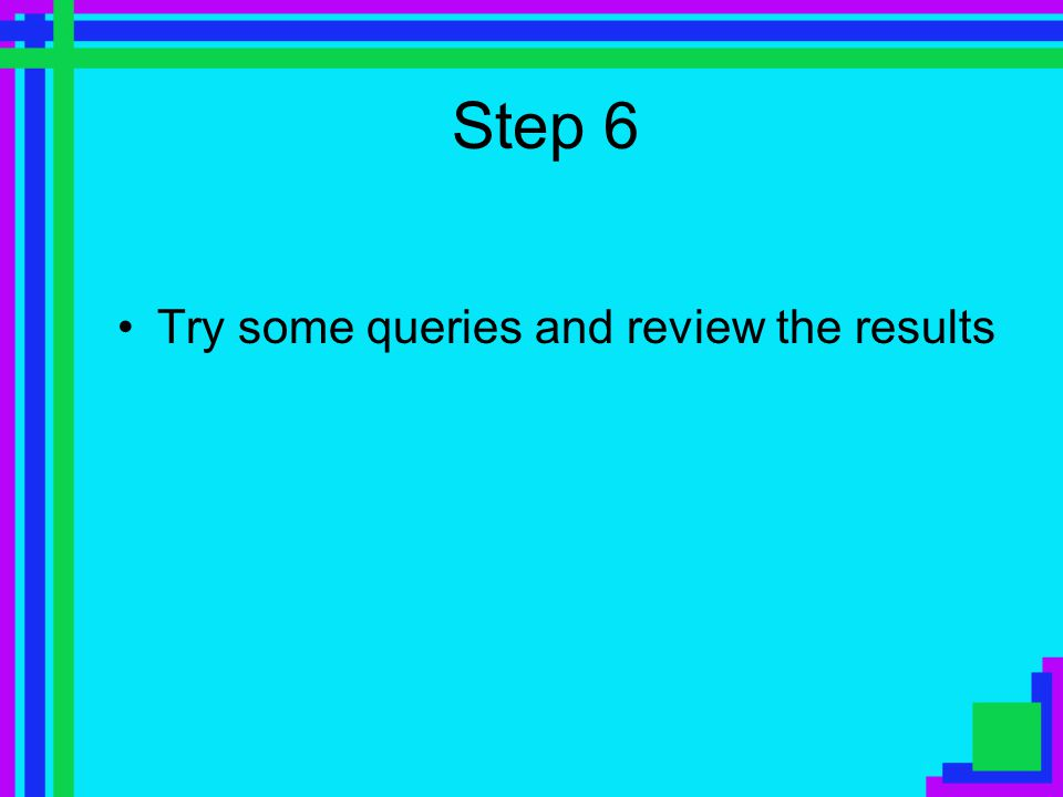 Step 5 Select a search engine