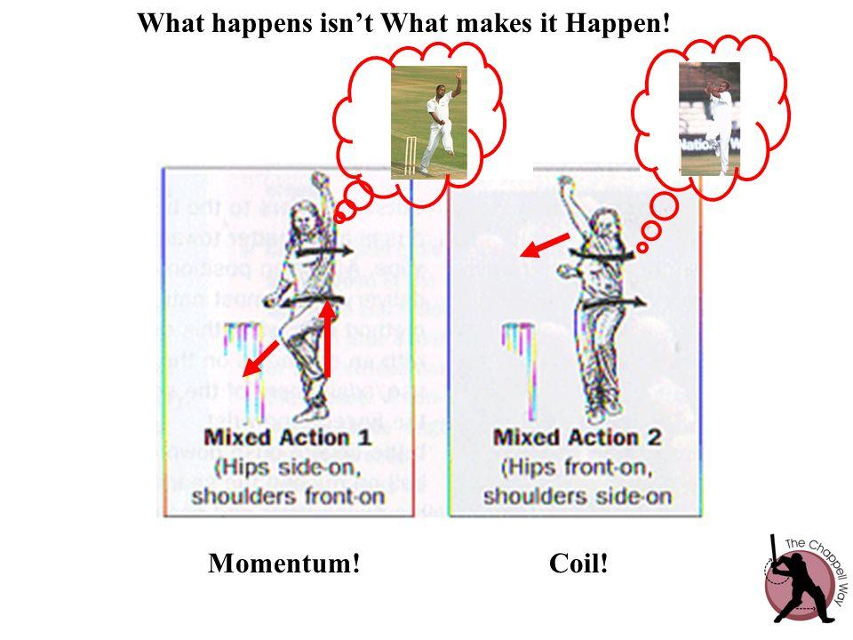What happens isn't What makes it Happen! Momentum!Coil!