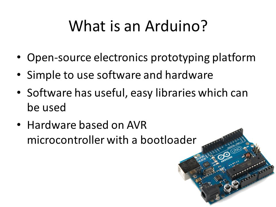 What is an Arduino.