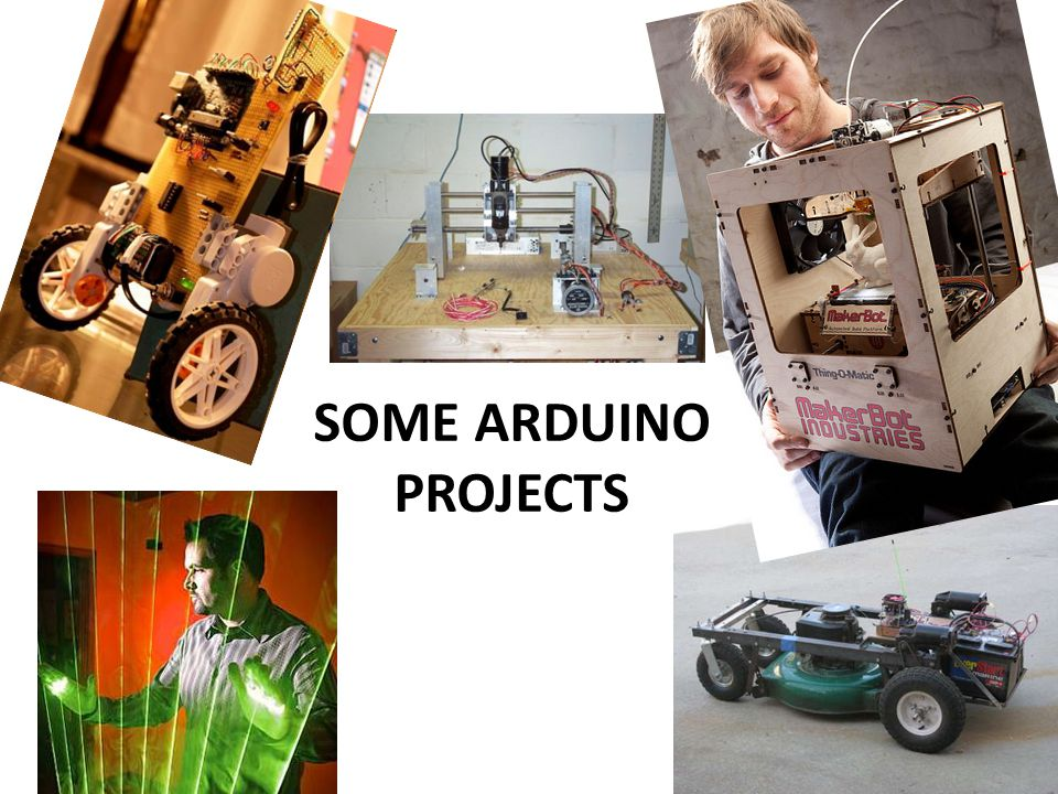 SOME ARDUINO PROJECTS