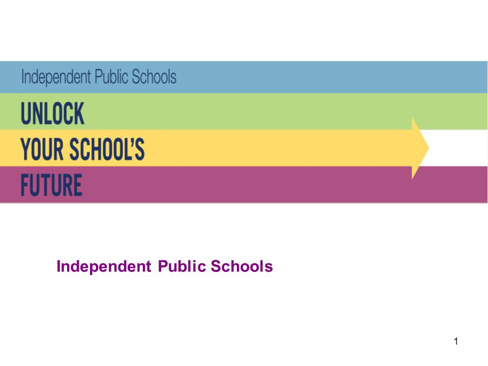 12 Independent Public Schools What is taught in Independent Public Schools.