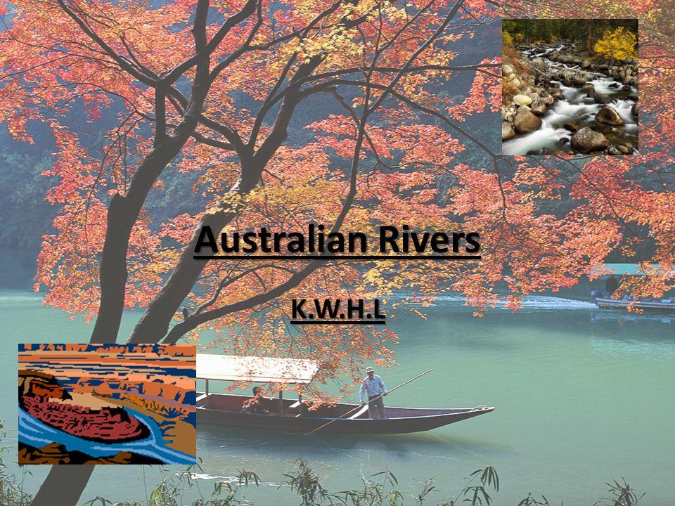 Australian Rivers K.W.H.L
