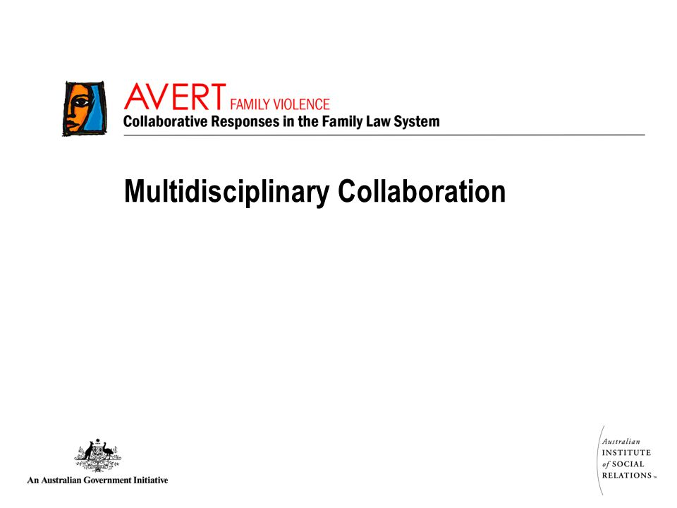 Multidisciplinary Collaboration