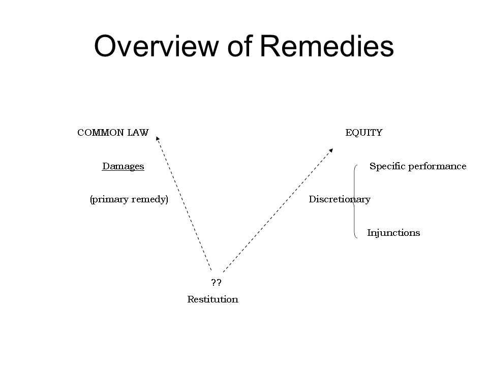 Overview of Remedies