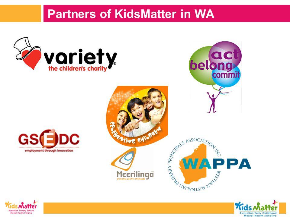 Partners of KidsMatter in WA