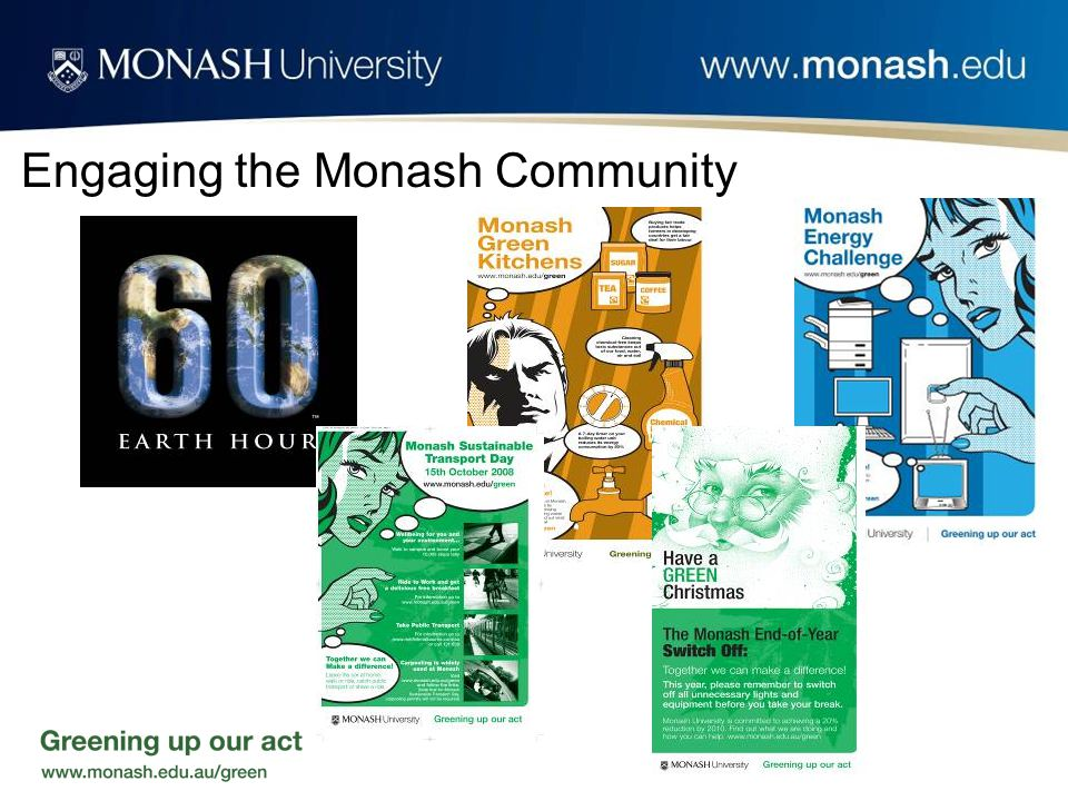 Engaging the Monash Community