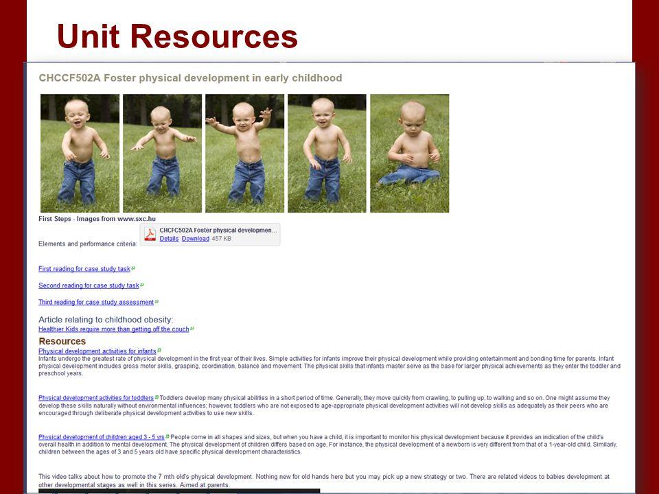Unit Resources