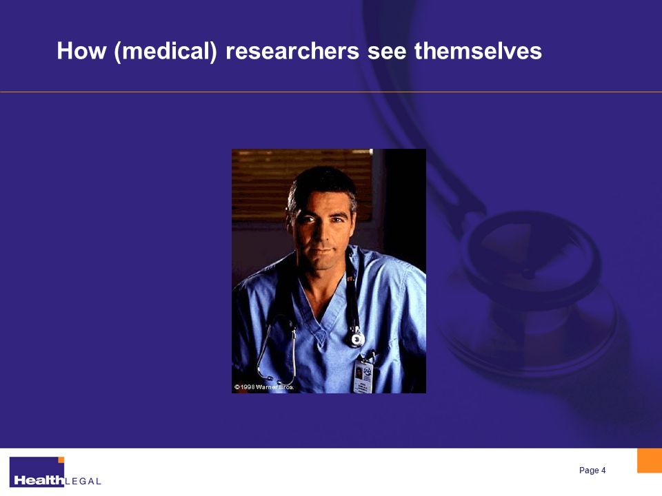 Page 5 How the public sees (medical) researchers