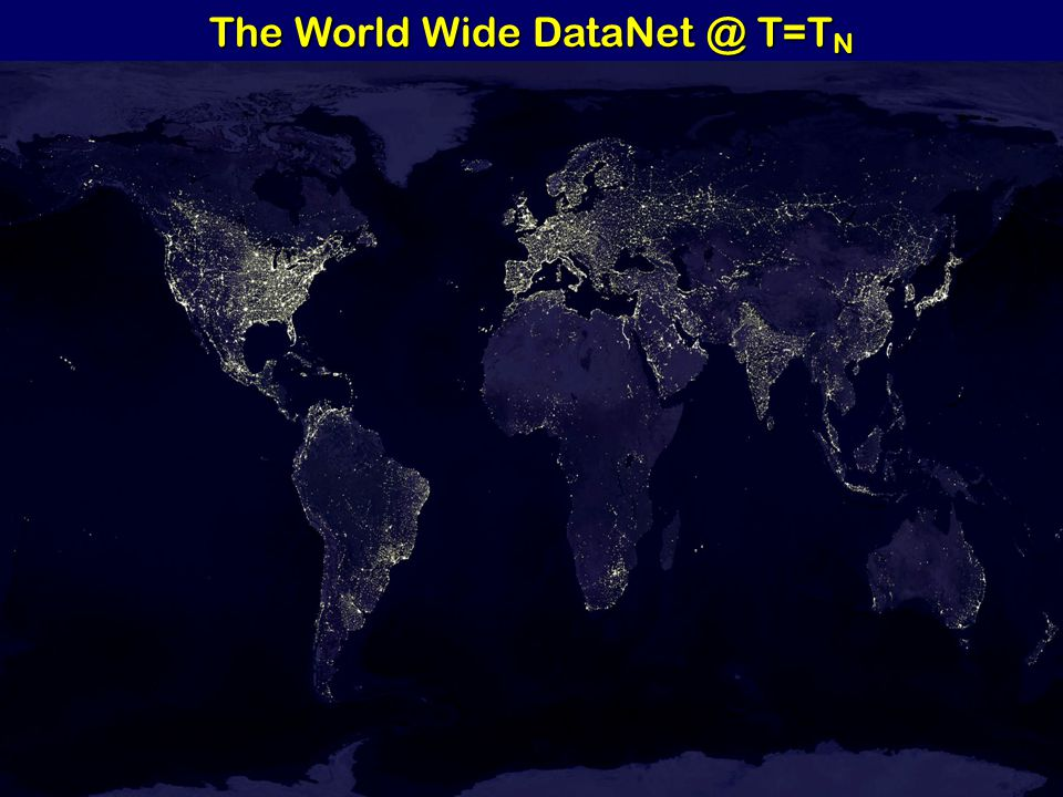 The World Wide DataNet @ T=T N