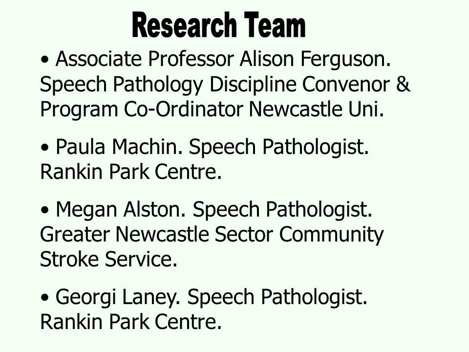 Associate Professor Alison Ferguson.