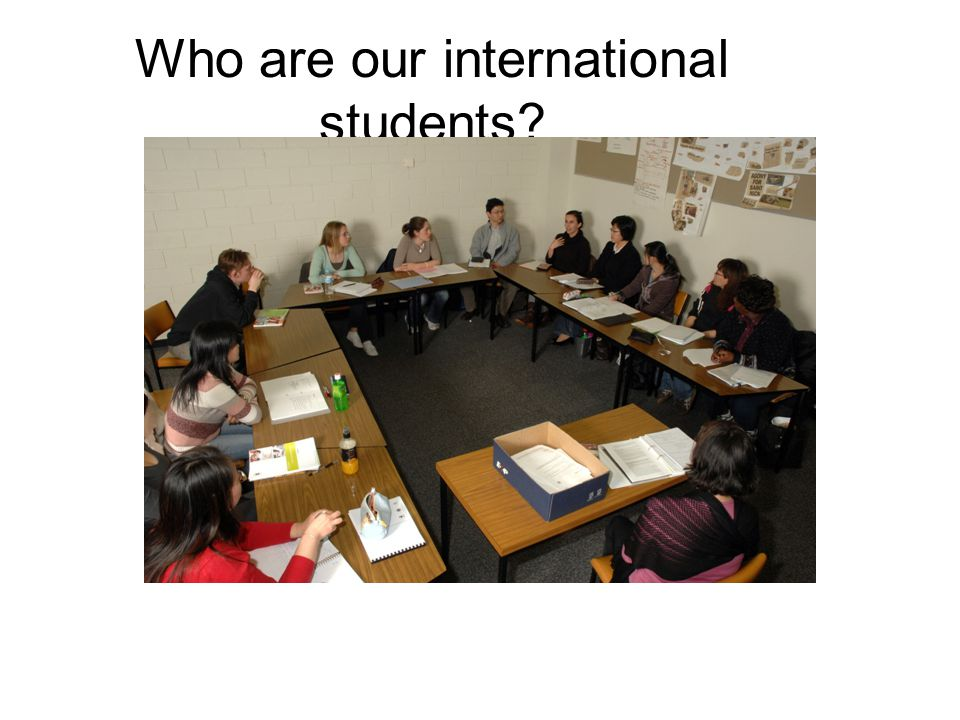 Who are our international students