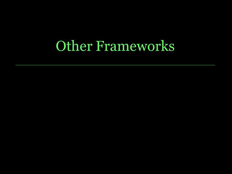 Other Frameworks Dire