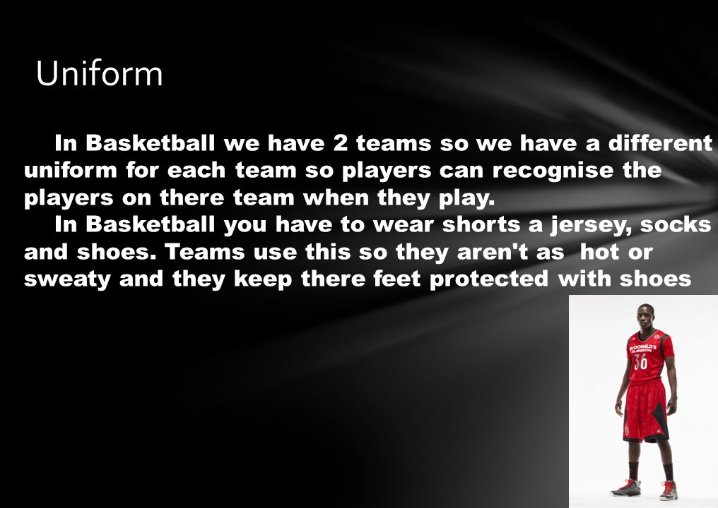 Bounce the ball Cant carry ball unless your passing No coming in contact with the other team 5 people from each team is only allowed on the court except for referee Don't cross half line then cross back that is cross court Cant dribble carry dribble If you shoot outside the curved line, around the key and get it in that is worth 3 points.