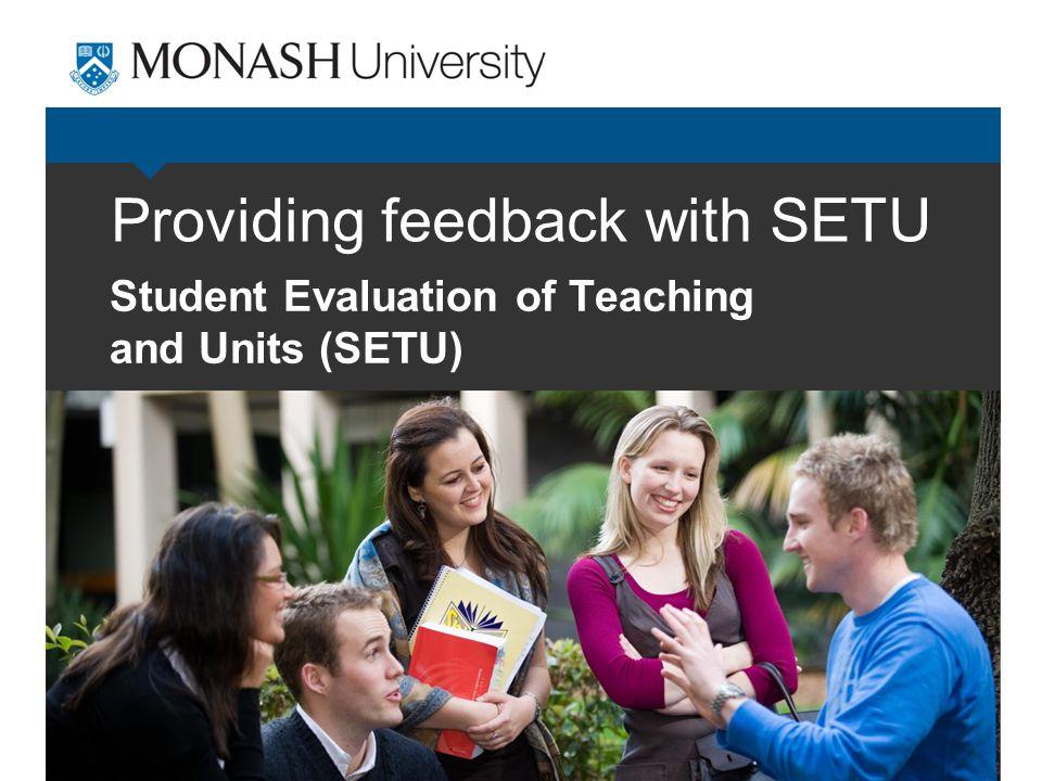 What is SETU. SETU is simple.