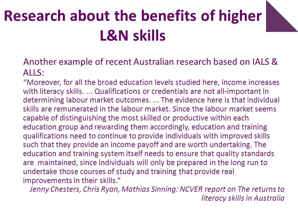 What do we know about L&N skills? 2. PIAAC