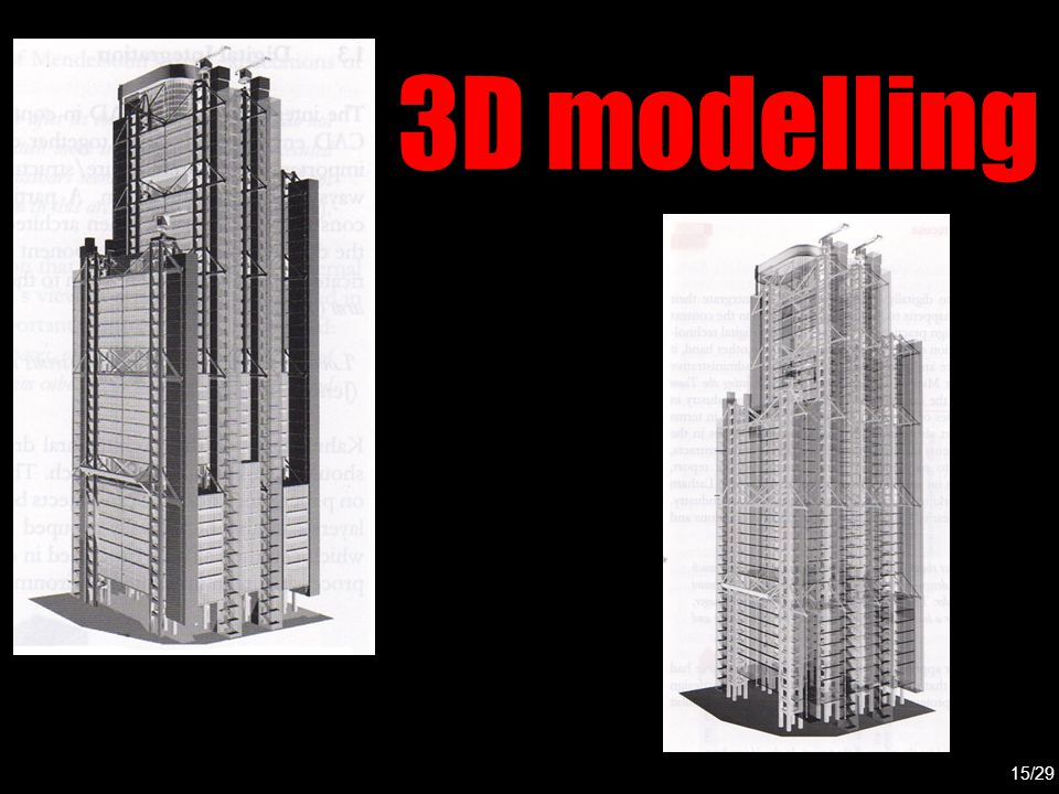 3D modelling 15/29