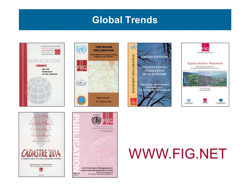 Global Trends WWW.FIG.NET